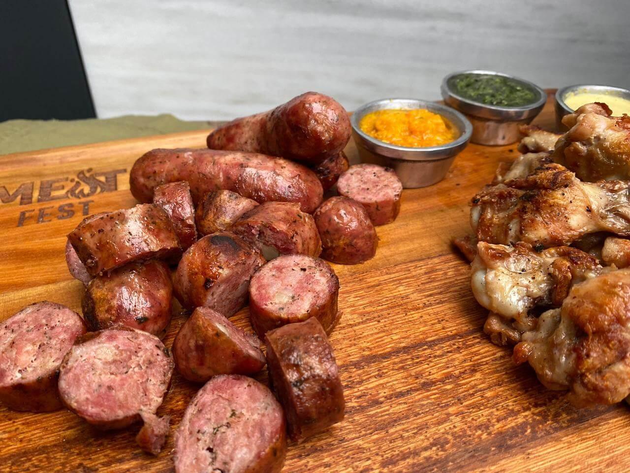 Meat fest